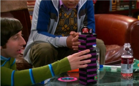 Jenga Big Bang Theory donkey kong
