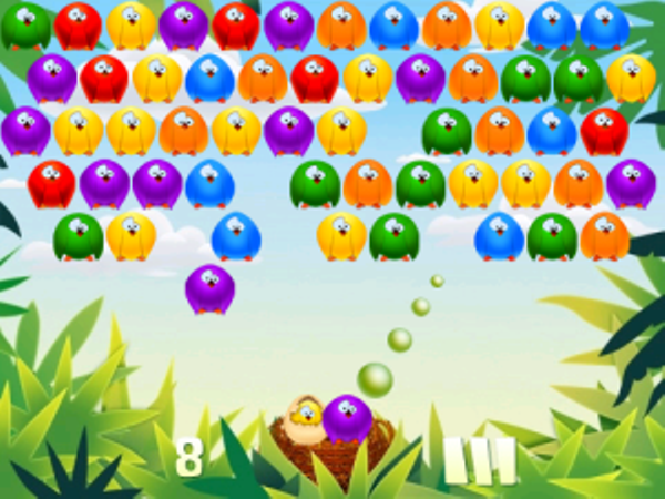 2 Bubble Birds Blackberry Juegos Arcade Clasicos Tec