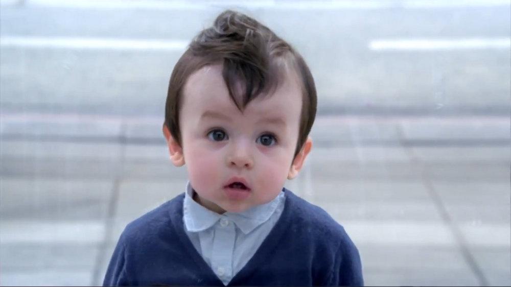 Evian bebes comercial 2