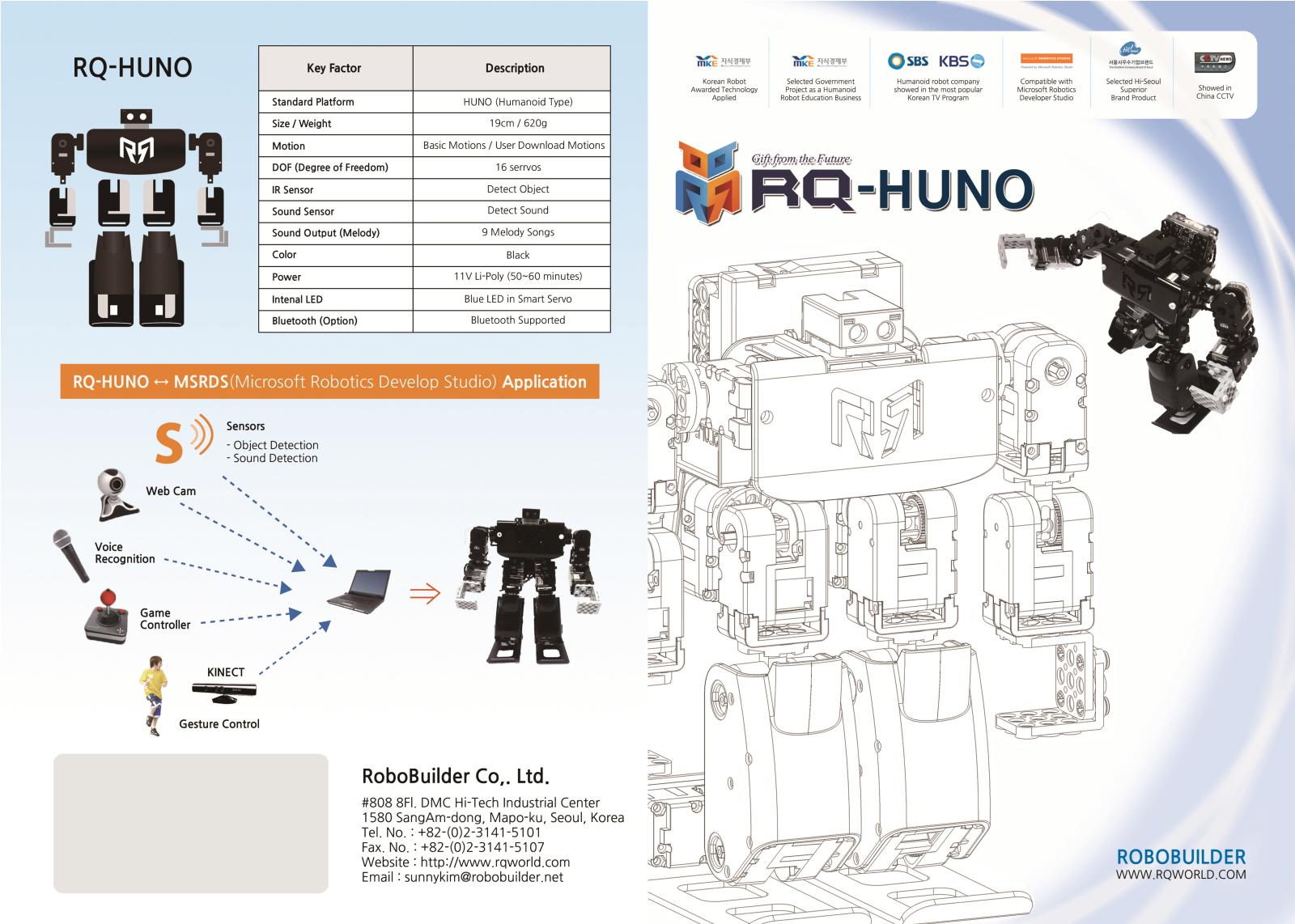 RQ Huno detalles