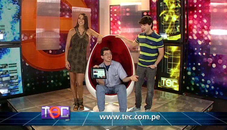 Tec Programa america TV abril 2013