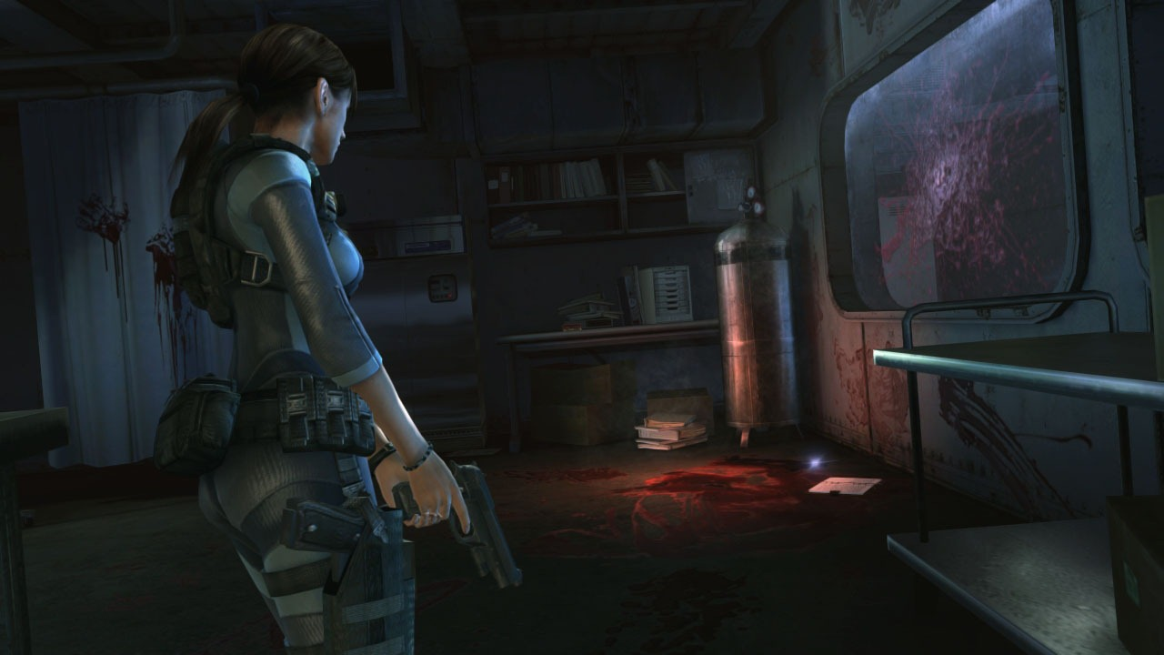 Resident Evil Revelations graphics