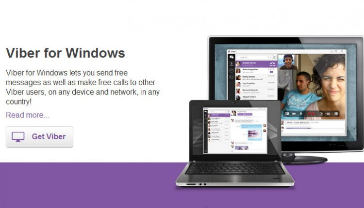 Viber desktop windows PC MAC