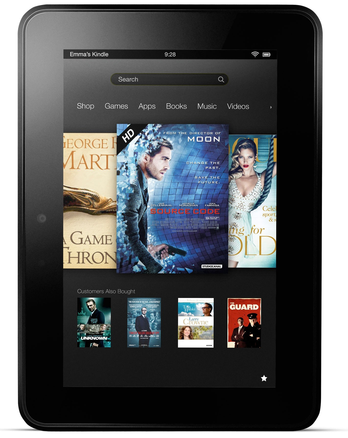 Kindle Fire Vs