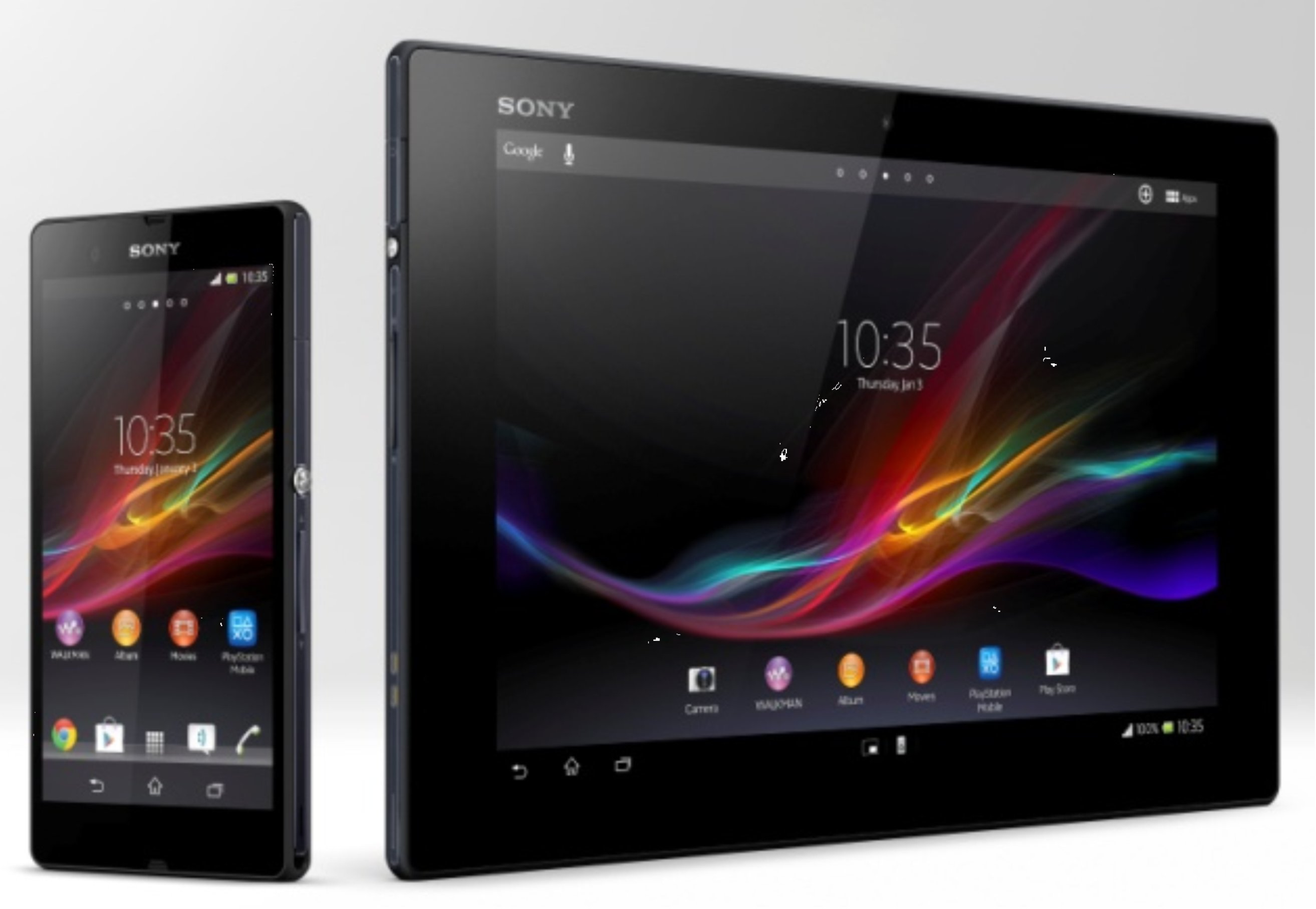 Sony-Xperia-Z-and-Tablet