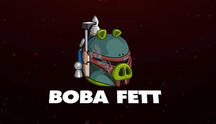 Boba Fett angry Birds Star Wars