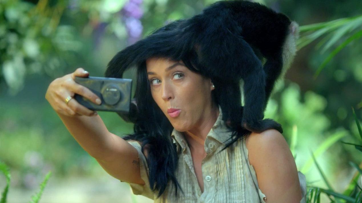 Katy Perry Nokia roar video