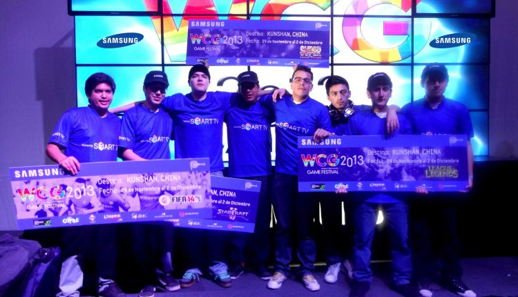 Samsung WCG 2013 Ganadores
