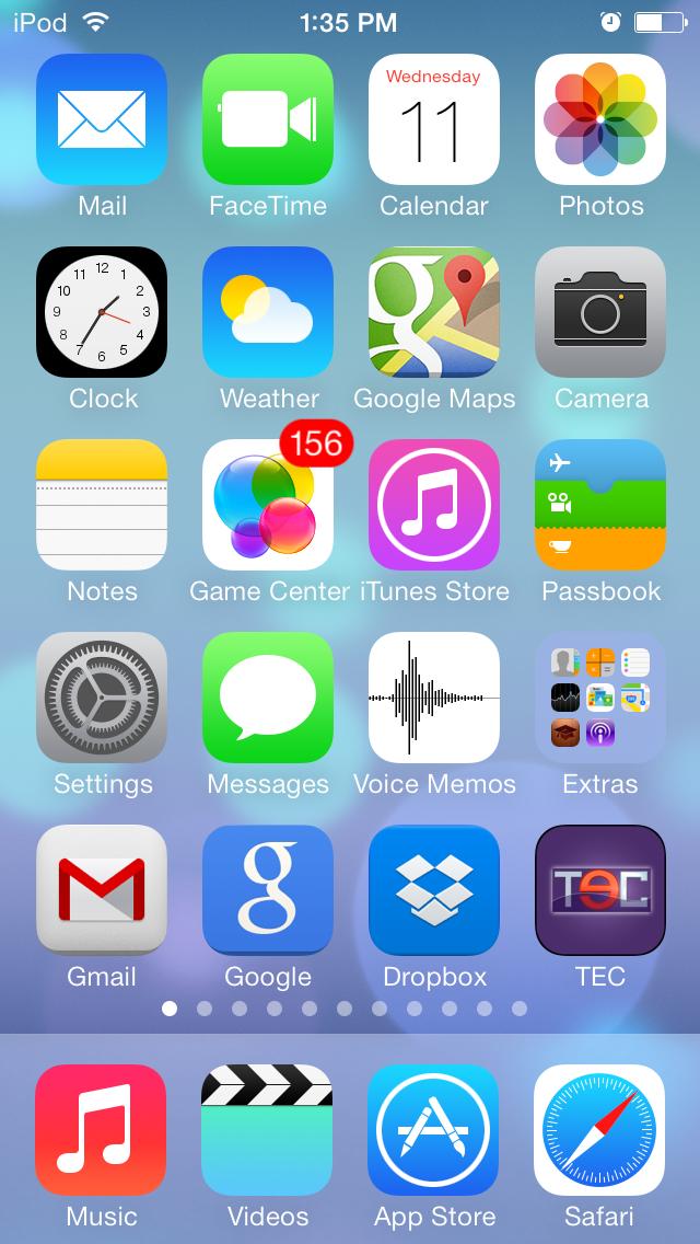 iOS 7 TEC