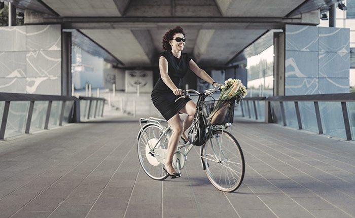 Bicicleta Señora Smart