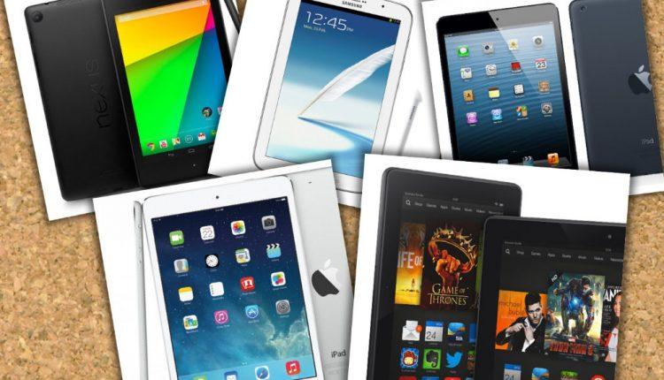 iPad mini Retina vs  Nexus 7 vs Galaxy Note 8 vs Kindle Fire HDX – Guerra de Tablets (Especificaciones)