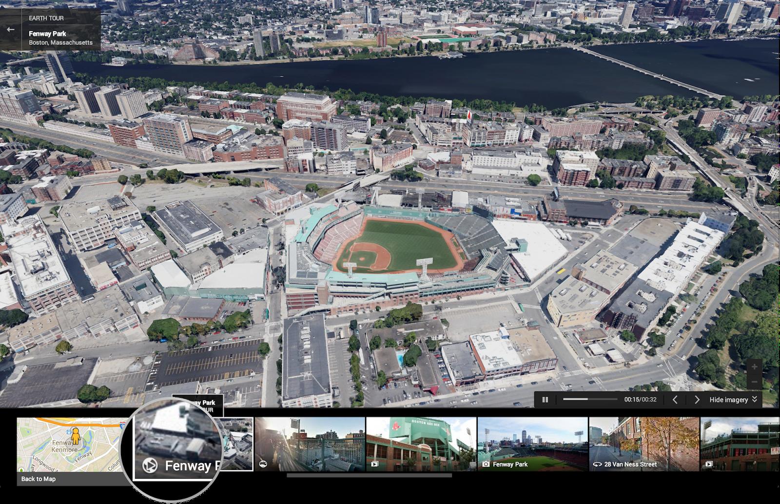 Google Maps 3D Tour