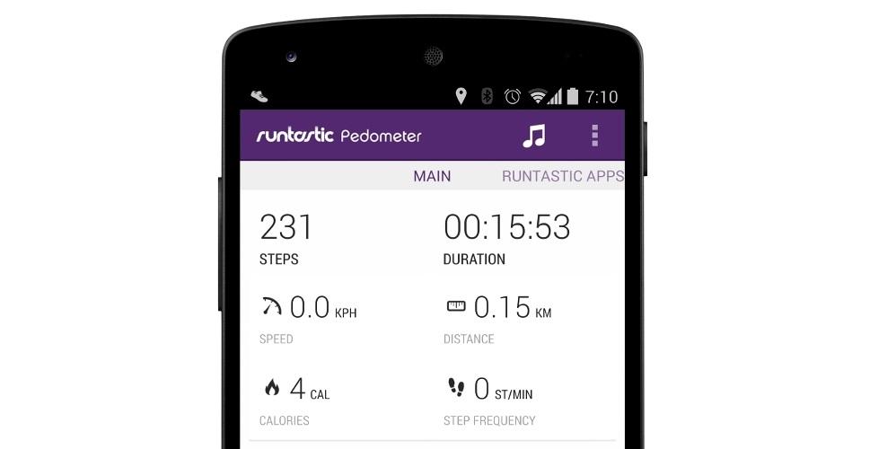 Runastic Contador de pasos Fitness