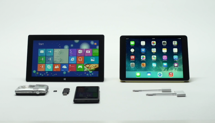 Surface vs iPad Air