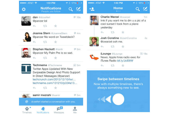 Twitter iOS Messages 4