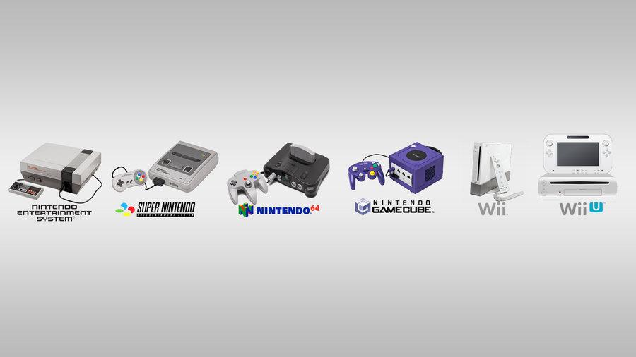 Nintendo consoles 2