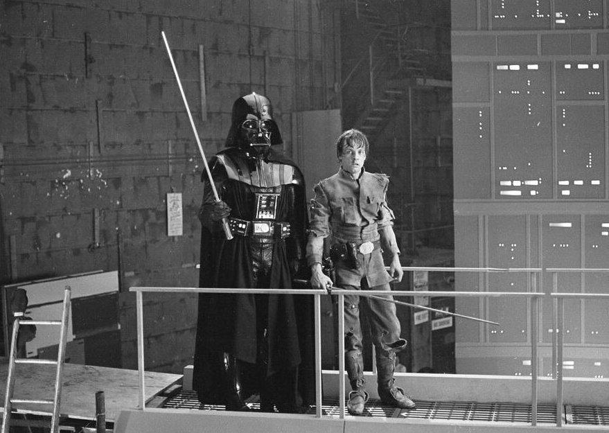 Star Wars detrás de cámras (7)