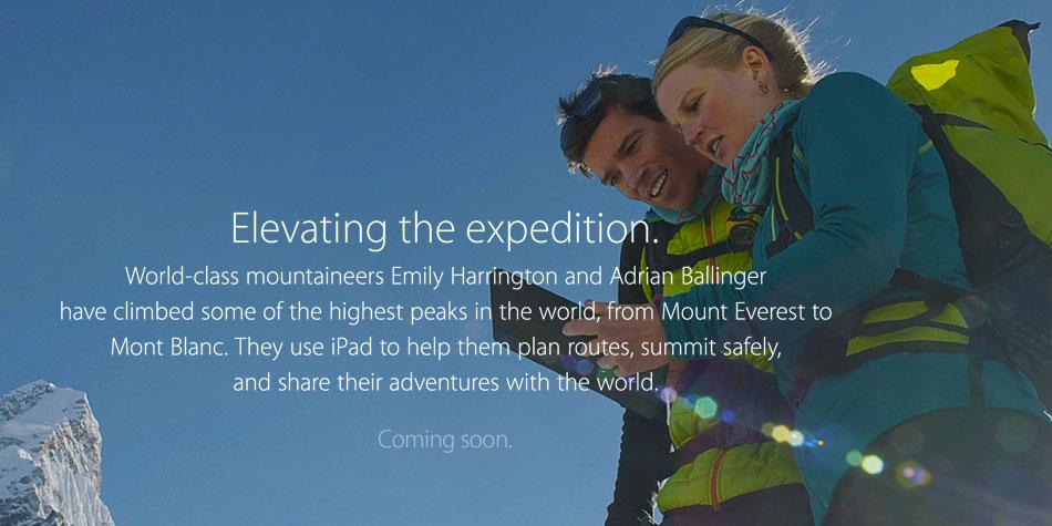 iPad-Everest