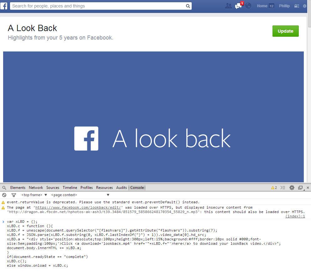 Facebook Loockback (2)