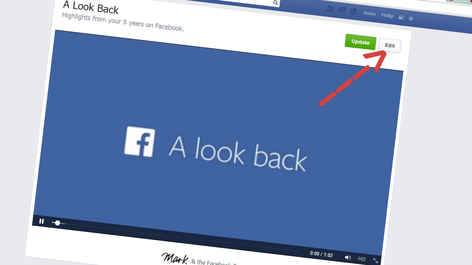 Como editar y descargar tu video de Facebook Lookback (Tutorial) - TEC 79063b4de0c