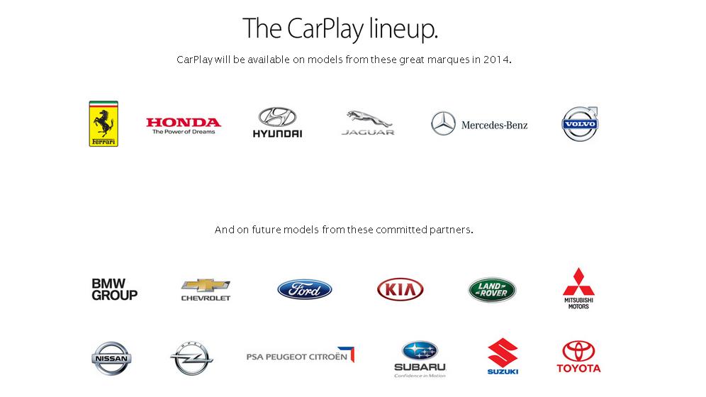 CarPlay-Brands