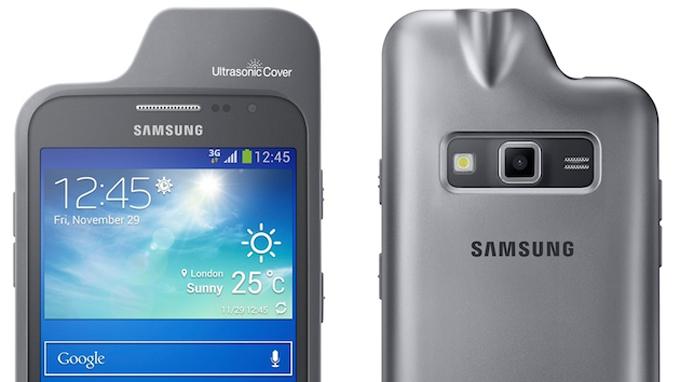 9cd4e9aa3f1 Samsung presenta una funda con radar ultrasónico para el Galaxy Core Advance