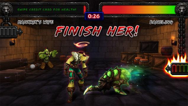 Blizzard juego de peleas 2