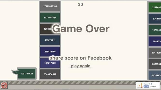 Flappy 2048 High Score