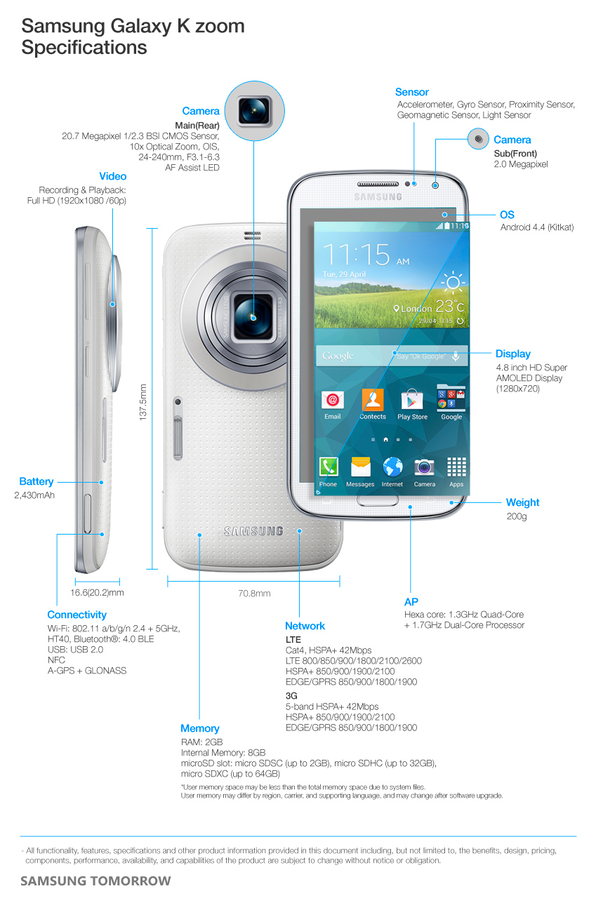Galaxy-K-Zoom-Specifications