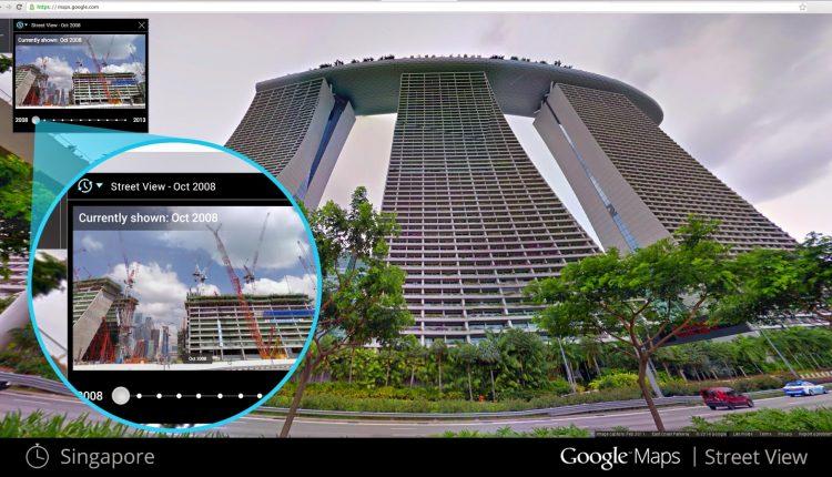 Street View Time Machine