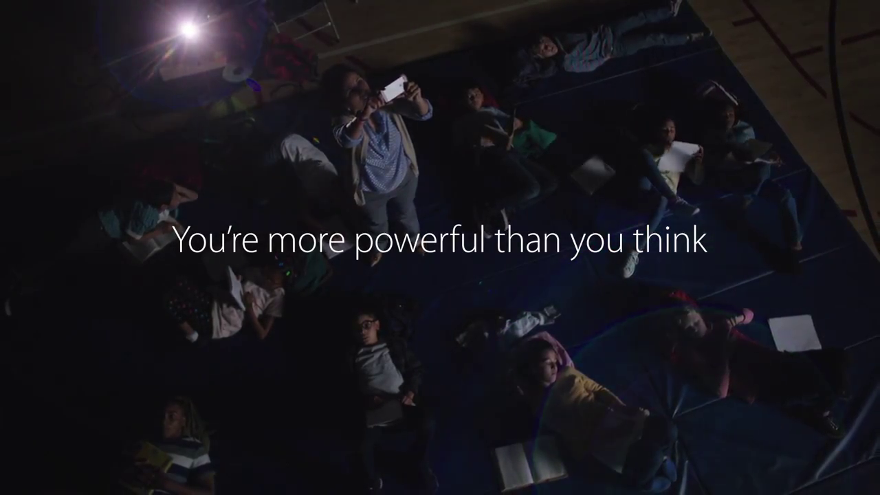 iPhone 5s Comercial Texto