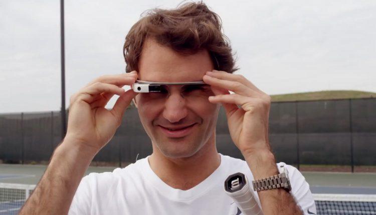 Federer Google Glass (3)