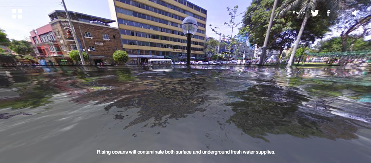 Parque-Kennedy-Under-Water