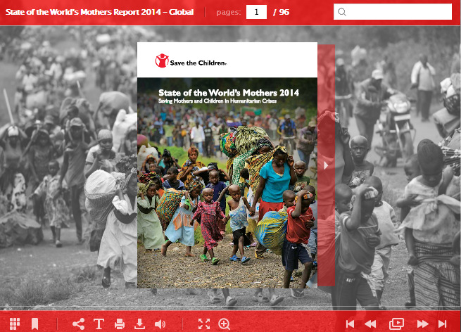 Save The Children mothers 2014