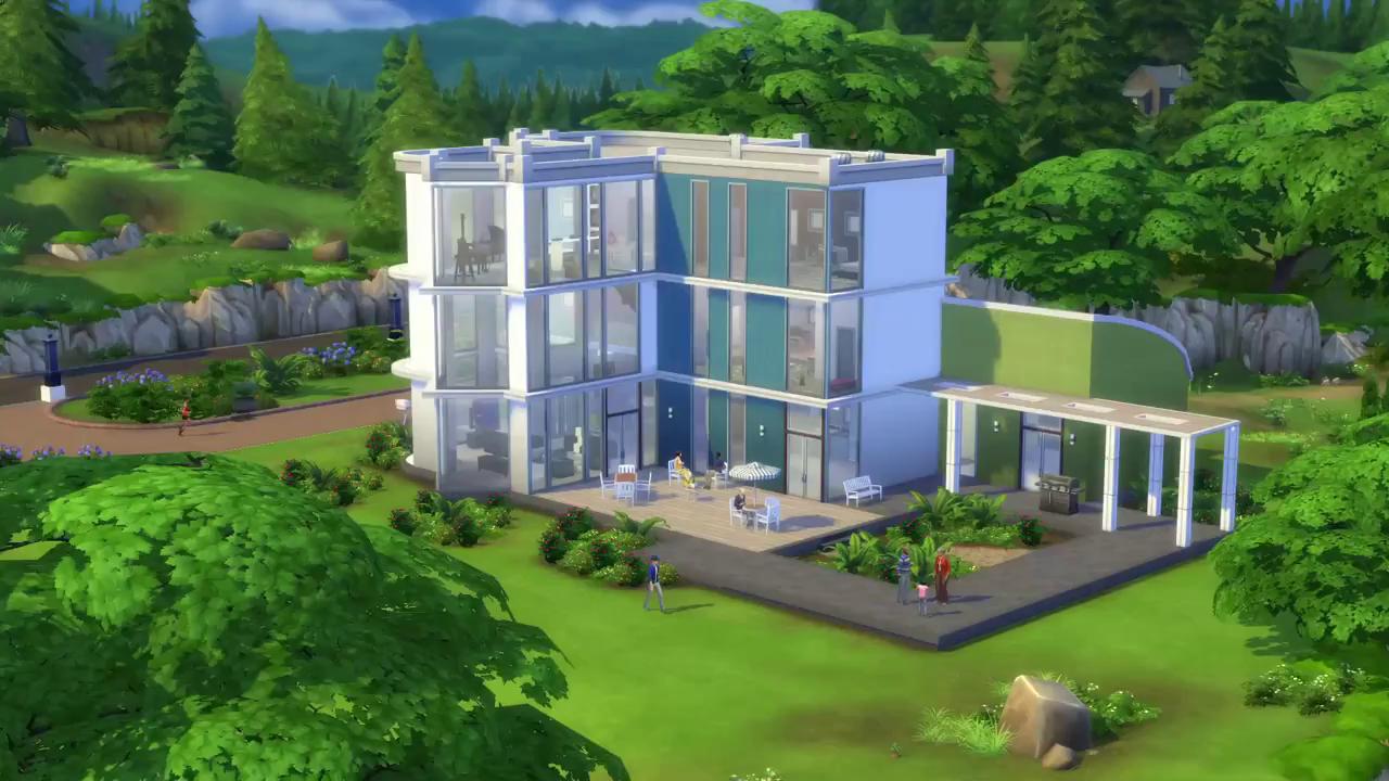 Sims 4 Edificio