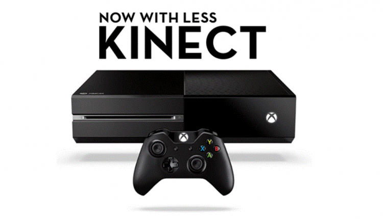 Xbox Kinect Less Cover