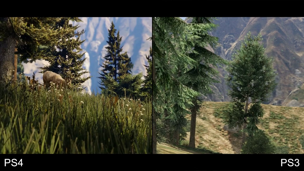 GTA 5 PS4 vs PS3 2