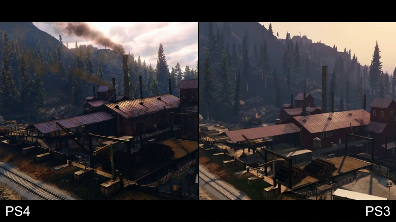 GTA 5 PS4 vs PS3 5