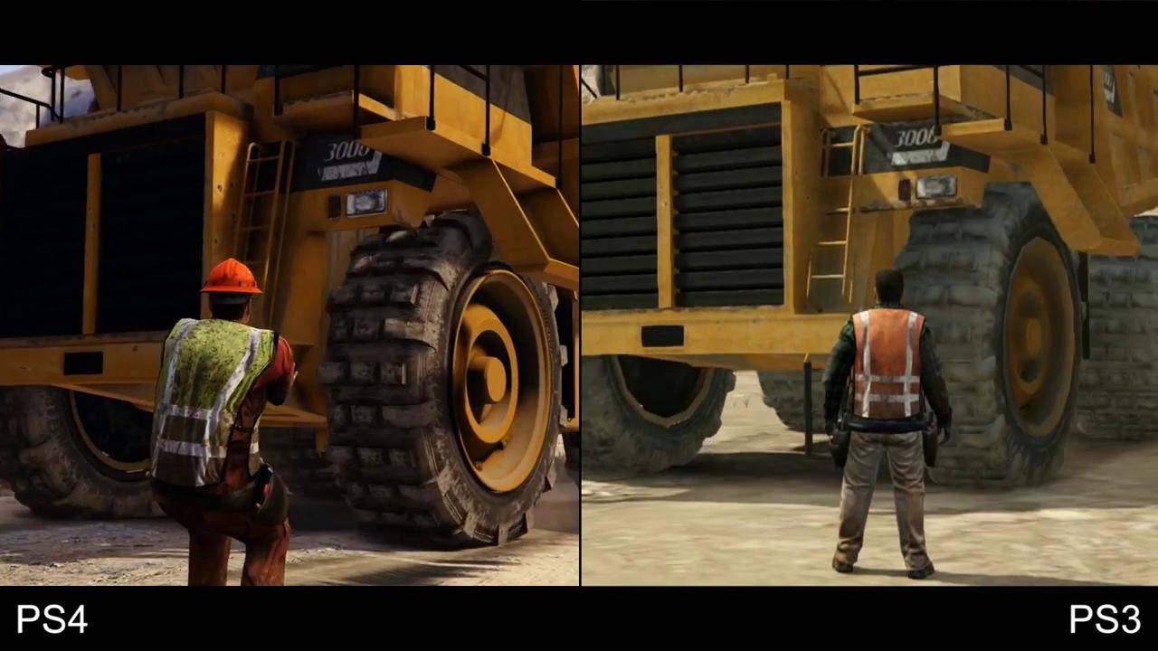 GTA 5 PS4 vs PS3 6
