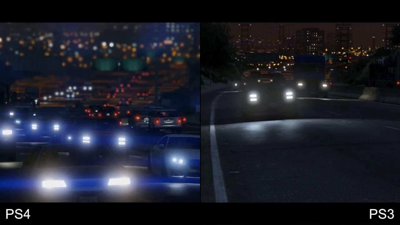 GTA 5 PS4 vs PS3 7