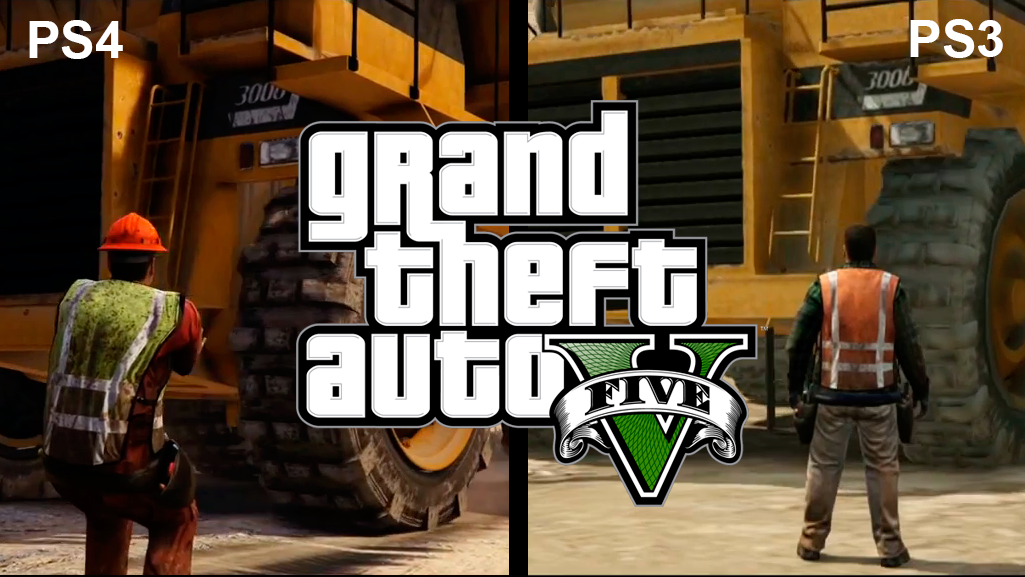 Video Las Diferencias Entre Grand Theft Auto V Para Ps4 Y Ps3 Tec