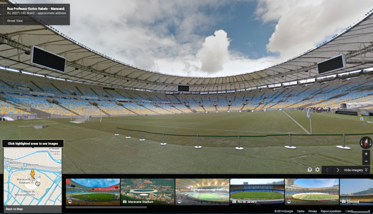 Google Maps Stadium Brazil 2014 (3)