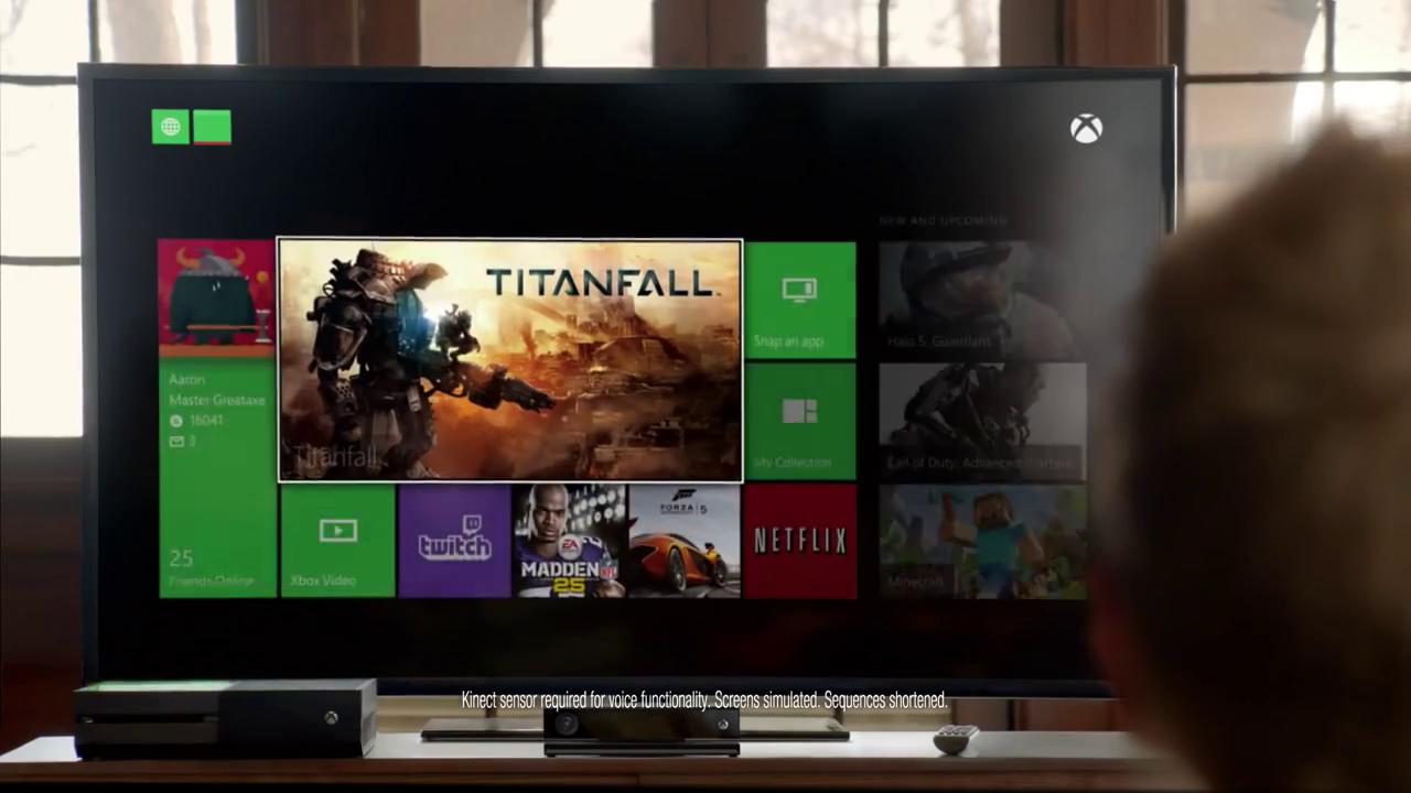 Xbox One Aaron Paul On
