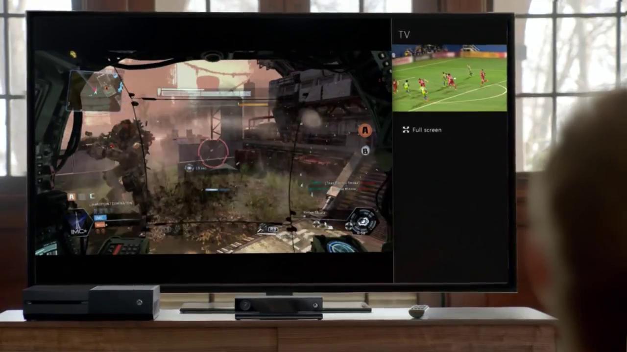 Xbox One Aaron Paul TV