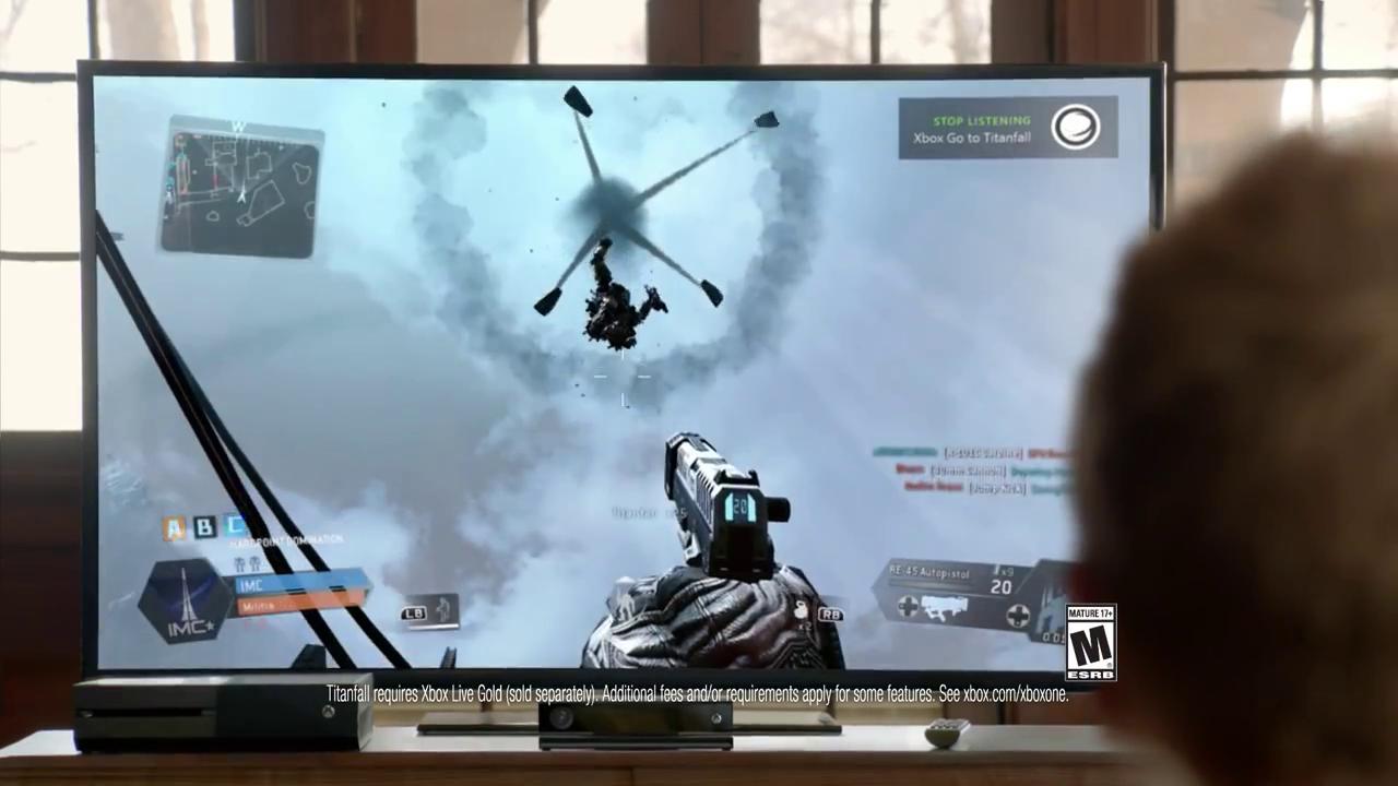 Xbox One Aaron Paul Titanfall