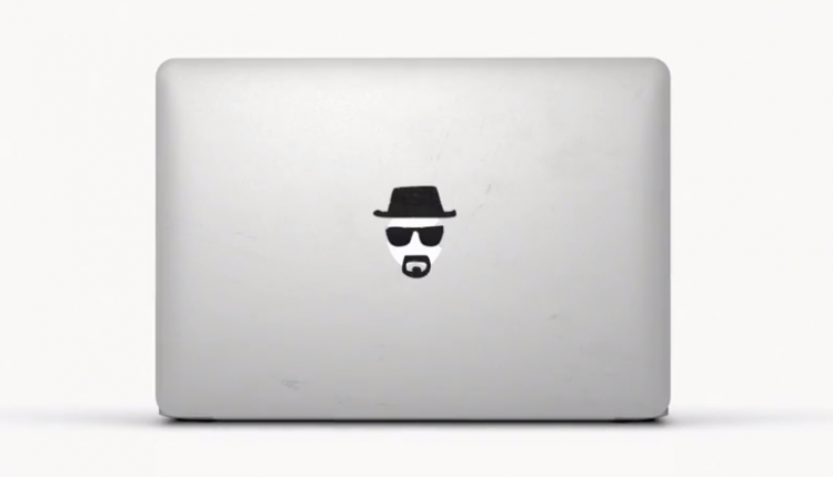 Apple Ad Macbook Air Stickers