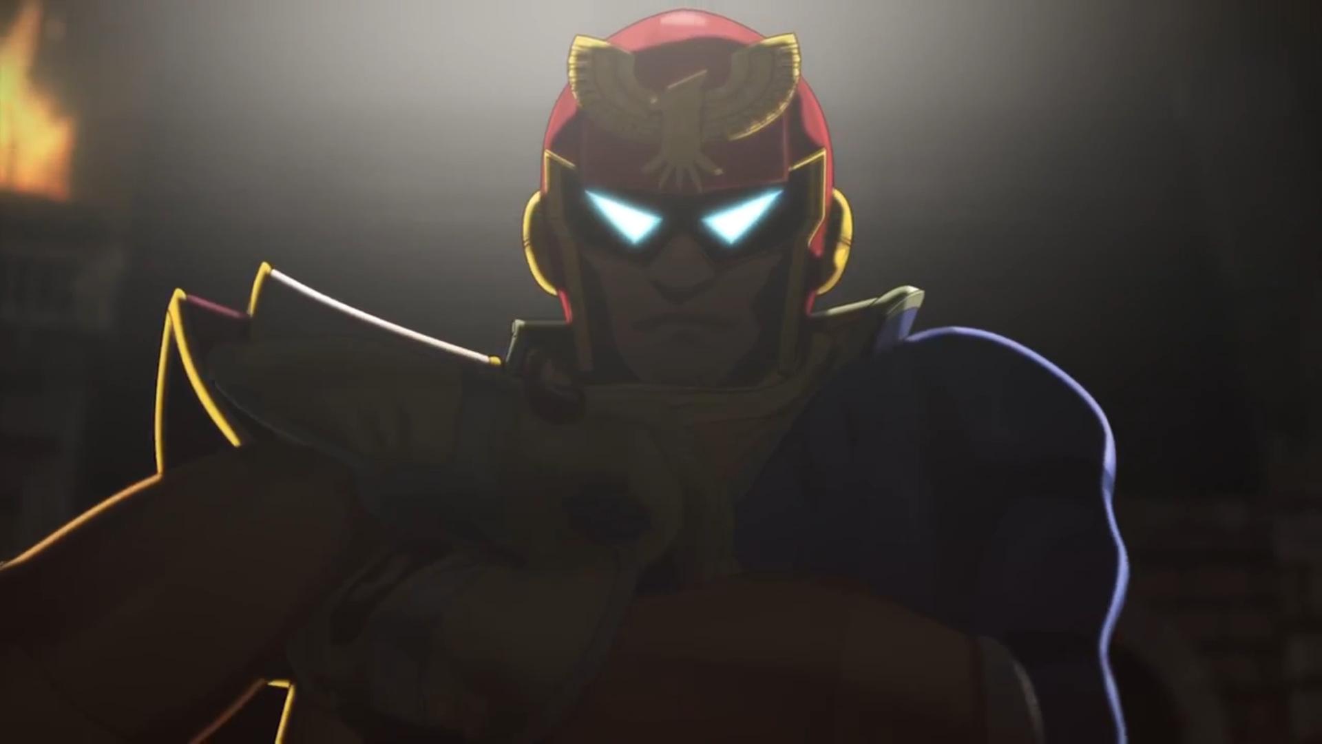 Captain falcon Super Smash (6)