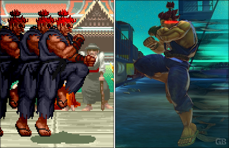 Retro Super Street fighter (2)