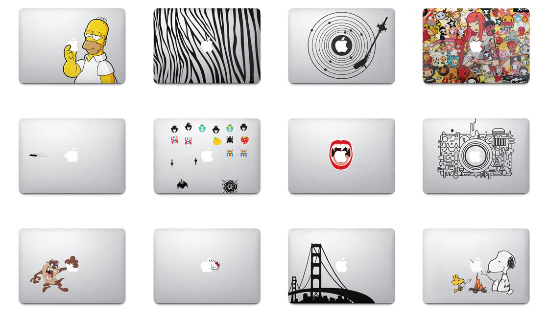 Stickers Apple Ad