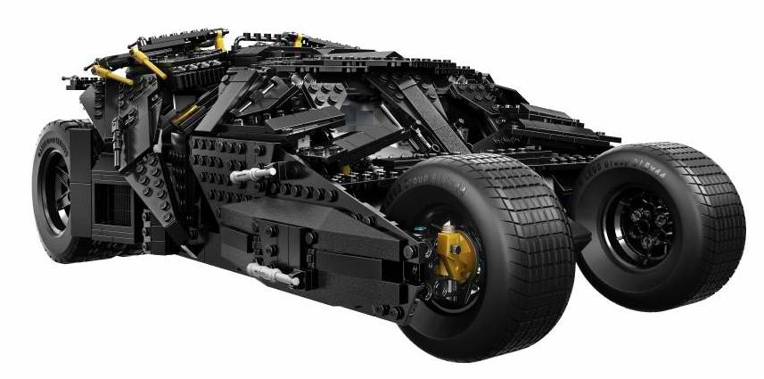 El Nuevo Batimovil Tumbler De Lego Juguetes Geek Tec